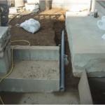 床の傾き工事