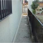 住宅の側面